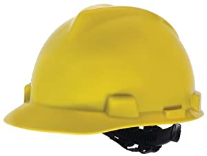 MSA Safety Works 818068 Hard Hat, Yellow from MSA Safety Works