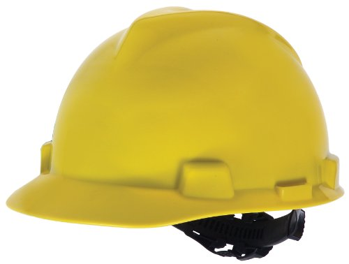 MSA Safety Works 818068 Hard Hat, Yellow