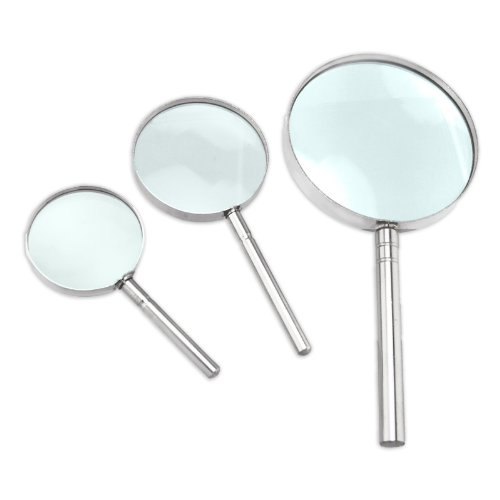 SE - Magnifier Set - Handheld, 3 Pc