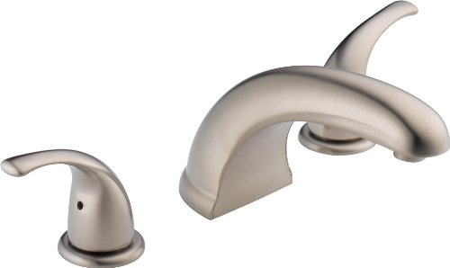 Peerless PTT298510-BN Choice Two Handle Roman Tub Trim, Brushed Nickel (Rough-in not included) (Delta Roman Tub Faucets compare prices)