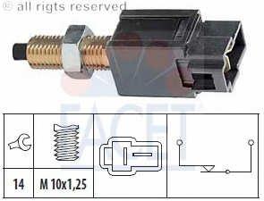 Facet 7.1169 Interruptor luces freno