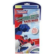 TRANSFORMERS SURPRIZE INK! GAME BOOK 1 - 1