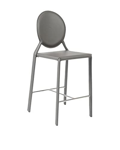 Eurostyle Isabella Counter Stool, Gray