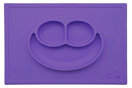 smiths-happy-mat-one-piece-silicone-placemat-plate-purple-free-smiths-caterpillar-silicone-spoon-rrp