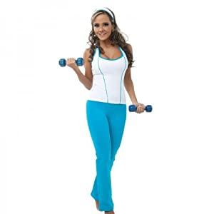Amazon.com : gym clothes 2 PICES SET, PANT AND TANK