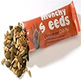 Munchy Seeds Chilli Mix, Healthy Sunflower and Pumpkin Seed Snack, 24 x 25g Sachet