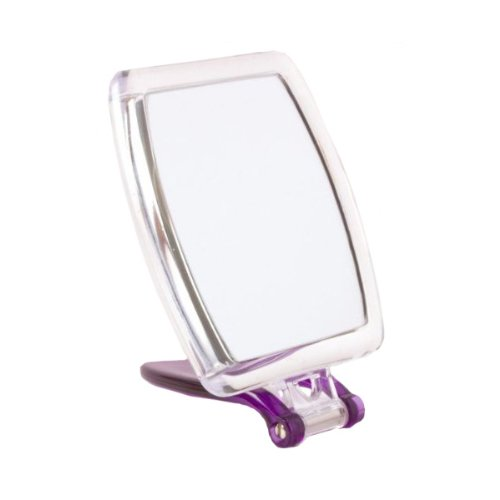 5x Magnification Travel Mirror Finish: Purple
