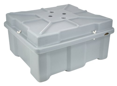 Moeller Roto-Molded Marine Battery Box (Two Standard Batteries, 17.5