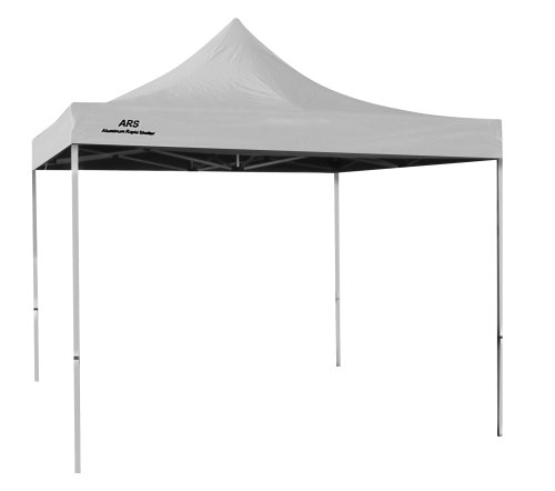 ARS 8-Foot x 8-Foot Aluminum Canopy (White), Outdoor Stuffs