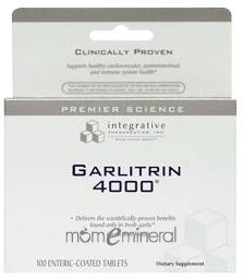 Garlitrin 4000 320 mg 100 Tablets by Integrative Therapeut