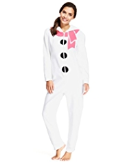 Hooded Snowman Onesie