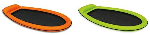 INTEX Inflatable Mesh Lounge Floating Raft w/ Headrest (Set of 2) | 58836EP