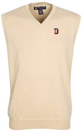 Oxford NCAA Davidson Wildcats Mens Bristol Sweater Vest by Oxford
