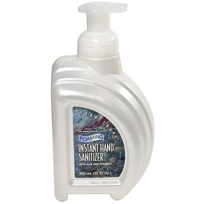 Clean Shape Foaming No-Rinse Instant Hand Sanitizer - 32oz.