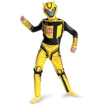 : Transformers Animated Bumblebee Child Costume