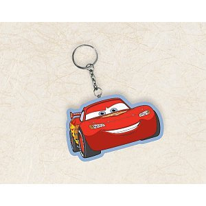 Disney Cars 2 Vinyl Key Chain (1 count) Party Accessory - 1
