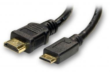 JVC GZ-E200 Camcorder AV / HDMI Cable 6' HDMI to Mini HDMI - High Speed HDMI Transfer Cable