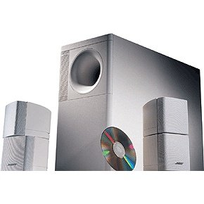 Bose Acoustimass 5 - Speaker System, ideal for stereo or home theater use - White