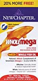 New Chapter Wholemega Whole Fish Oil BONUS -- 1000 mg - 144 Softgels