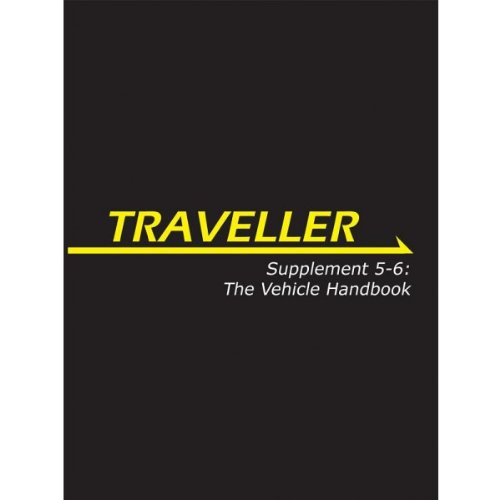 Traveller: Supplement 5-6: The Vehicle Handbook (MGP3868)
