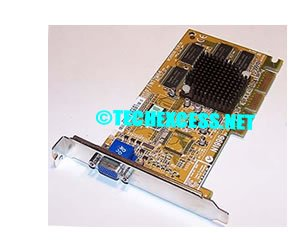 MSI MS8808 - Graphics adapter - TNT2 M64 - AGP 4x - 16 MB SDRAM - TV out