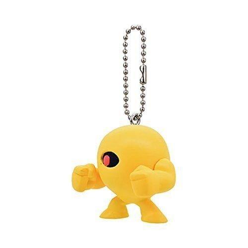 CAPCOM Mega Man Mini figure mascot strap key chain swing Yellow devil by CAPCOM