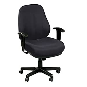 24 Hour Heavy Duty Ergonomic Task Chair Office Products