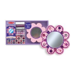 Melissa and Doug Create-A-Craft Flower Mirror