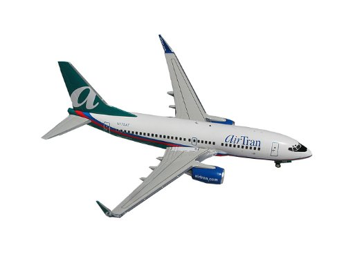 Gemini Jets Airtran B737-700W Diecast Aircraft, 1:200 Scale (Airtran Model compare prices)