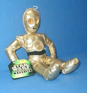 Buy Low Price Kenner Star Wars Buddies C-3po Plush By Kenner Figure (B000AYABWI)