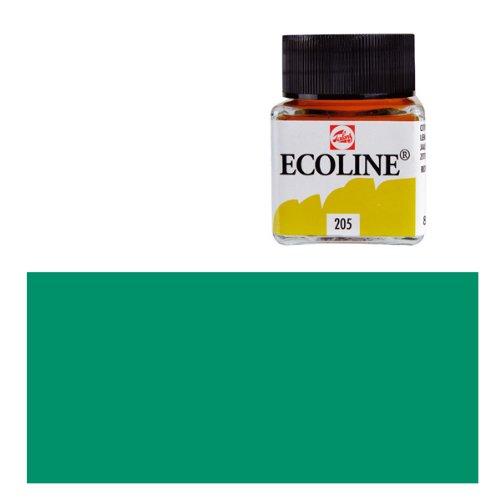 Ecoline-fluessige wasserfarbe waldgruen - 30 ml