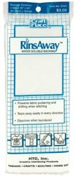 "Bulk Buy: Cotswold RinsAway Water Soluble Backing 36""X45"" 5400 (3-Pack)"