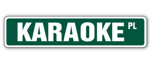 Karaoke Street Sign Microphone Songs Discs Cd Cds