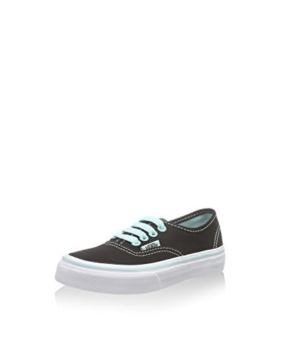 Vans Sneaker K Authentic schwarz/mint