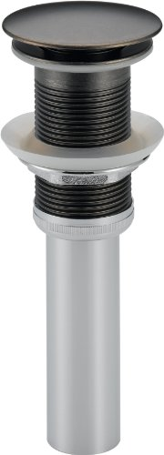 Delta 72172-PT Push Pop-Up - Less Overflow, Aged Pewter