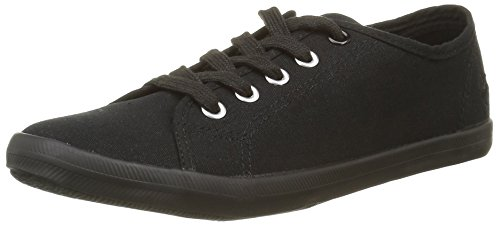 Banana Moon  Chelsey,  Sneaker Donna, nero (Noir (Sho01)), 37 EU