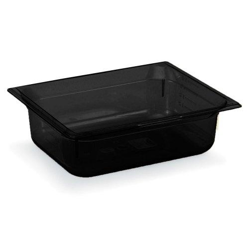 Vollrath Super Pan 3 Black Half Size High Temp. 3.9 Qt. Pan