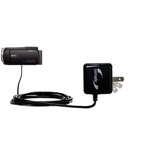 Sony Hdr-Cx330 Compatible Advanced Rapid Wall Ac Charger - Amazingly Powerful Home Charge Design Built With Gomadic Brand Tipexchange