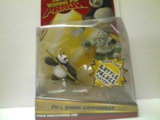 Buy Low Price Mattel Kung Fu Panda Po and Rhino Commander Figure (B0018KI6O8)