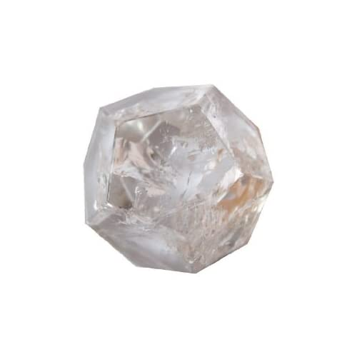 Quartz Dodecahedron 03 Clear 12 Sided Crystal Astral Travel Dimension Stone 1.3