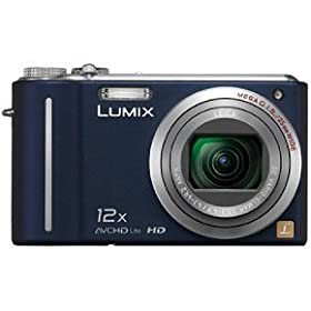 The Electronics World | Panasonic Lumix DMC-ZS3 10MP Digital Camera with 12x Wide Angle MEGA Optical Image Stabilized Zoom and 3 inch LCD