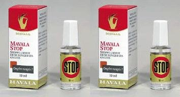2 Pack of Mavala Stop for Nail Biting and Thumb Sucking