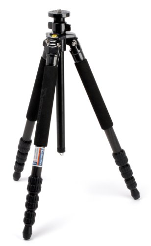 Giottos MT8240B 4 Section Pro MT Carbon Tripod with Vertical Column