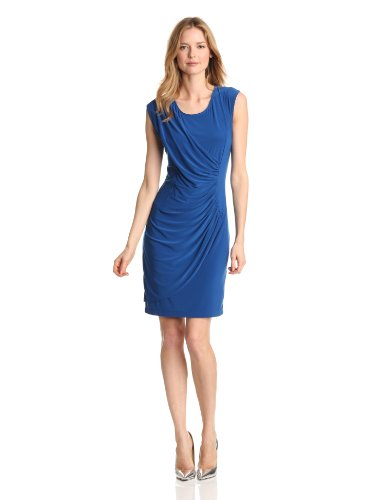 Tiana B Women's Fabulous and Flattering Dress, Royal, 12