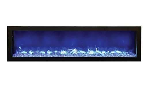 Amantii Fire & Ice Series Built-in Electric Fireplace, 72-Inch picture