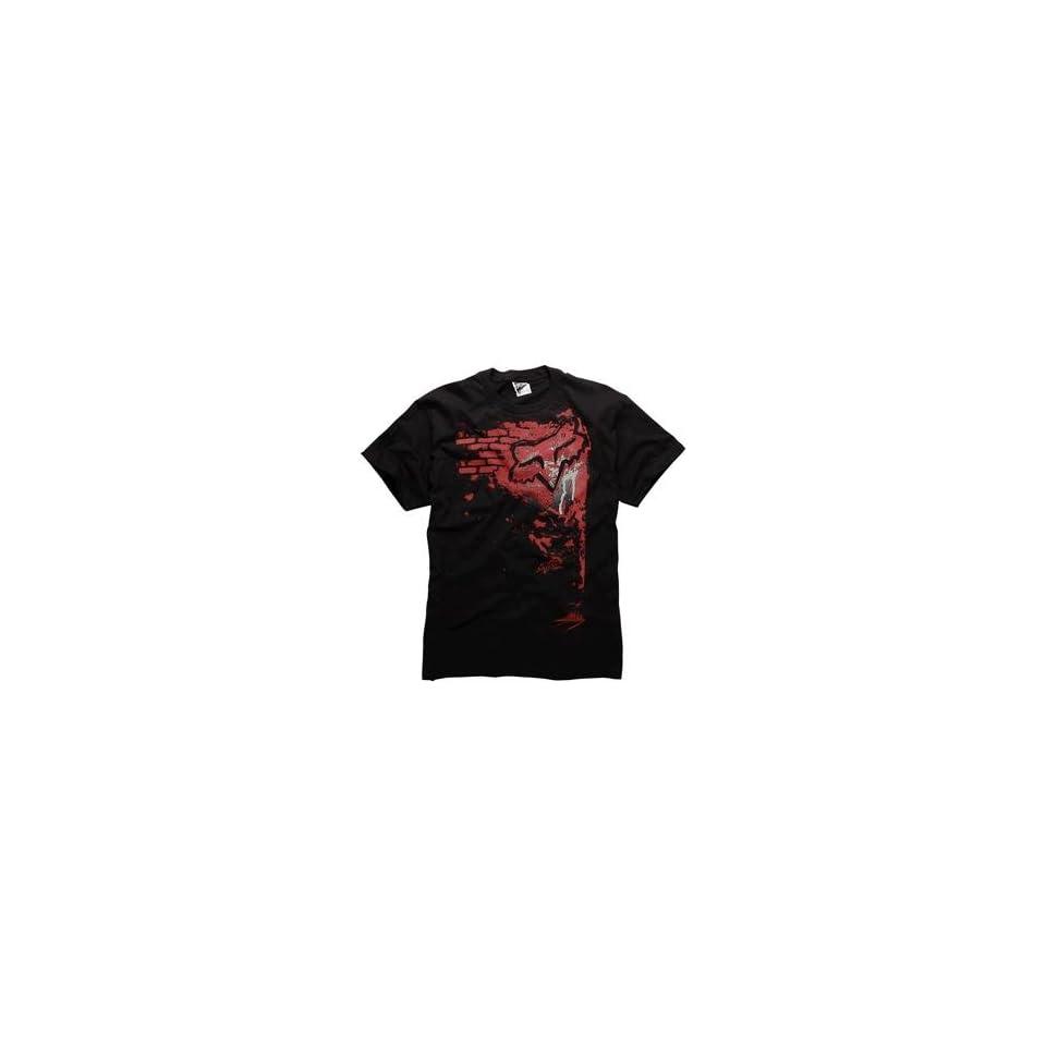 Fox Racing Left T Shirt   X Large/Black