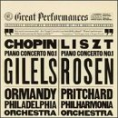 Chopin: Concerto No. 1 for piano in E minor, op. 11 / Liszt: Concerto No. 1 for Piano and Orchestra in E-flat major