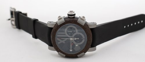 Romain Jerome Titanic DNA Rusted Steel T-OXY III Chronograph Mens Watch ref: CH.T.OXY3.11BB.00.BB, NEW! MSRP $22,000