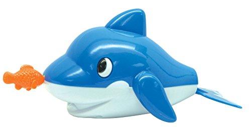 Navystar Pull String Bath Buddies - Dolphin Baby Toy