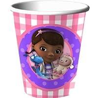 Doc McStuffins 9oz Party Paper Cups 8 Count by Shindigz